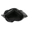 Černá kabelka v Hobo stylu bata, černá, 961-6808 - 15
