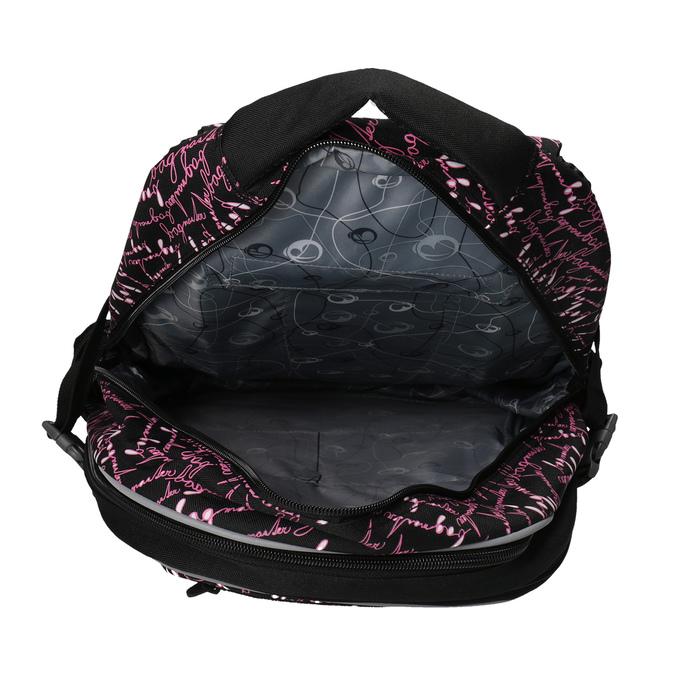 Školní batoh s potiskem bagmaster, černá, 969-6602 - 17