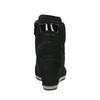 Kožené tenisky na klínovém podpatku geox, černá, 723-6030 - 17