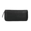 Dámská peněženka s kovovou aplikací bata, černá, 941-6134 - 26