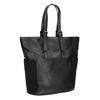 Dámská černá kabelka s kamínky bata, černá, 961-6118 - 13