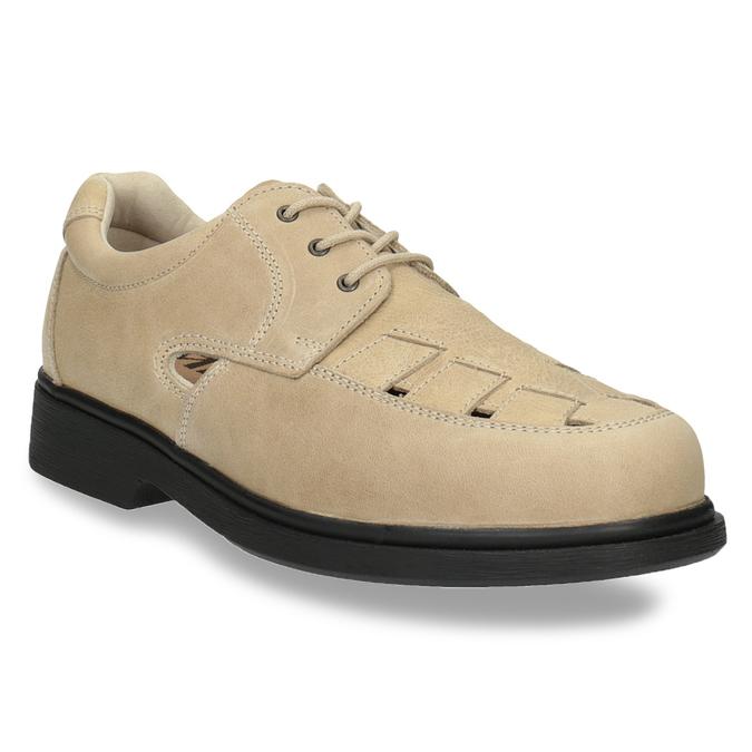Pánská zdravotní obuv medi, béžová, 854-8205 - 13