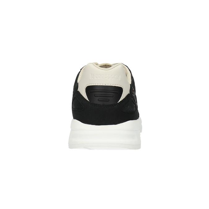 Dámské tenisky s květinovým vzorem le-coq-sportif, černá, 509-6610 - 17