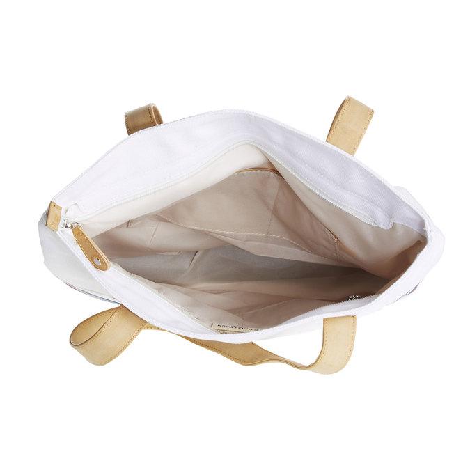 Ležérní dámská kabelka u-s-polo-assn-, bílá, 969-1010 - 15