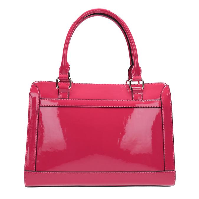 Růžová dámská kabelka bata, růžová, 961-1610 - 19