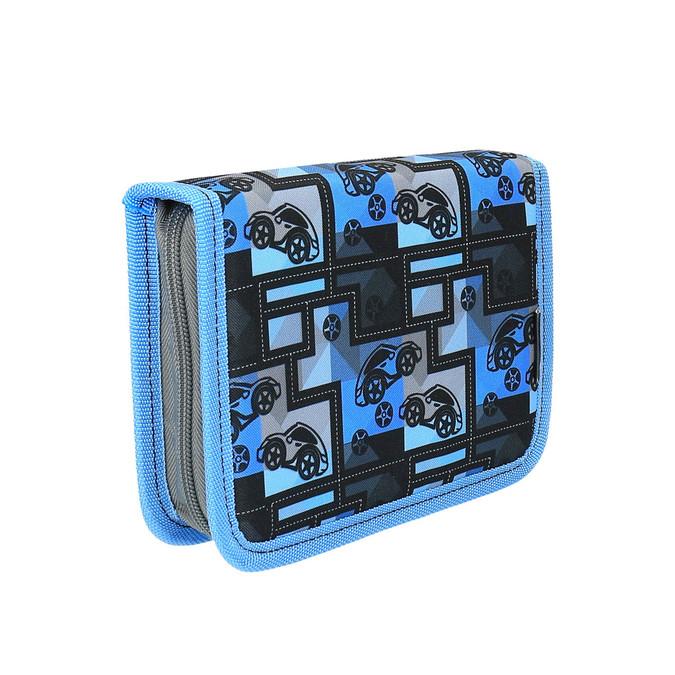 Modrý školní penál bagmaster, modrá, 949-9610 - 13
