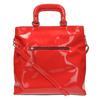 Červená dámská kabelka do ruky bata, červená, 961-5606 - 26