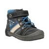 Dětská kotníčková obuv bubblegummer, černá, 111-6610 - 13