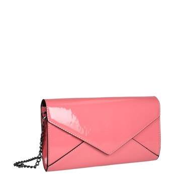 Růžové psaníčko bata, růžová, 961-5624 - 13