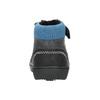 Dětská kotníčková obuv bubblegummer, černá, 111-6610 - 17