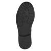 Dětská kotníčková obuv s kamínky mini-b, černá, 391-6249 - 26