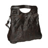 Dámská kožená kabelka do ruky a-s-98, hnědá, 966-4008 - 13