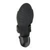 Dámské kožené sandály bata, černá, 644-6100 - 26