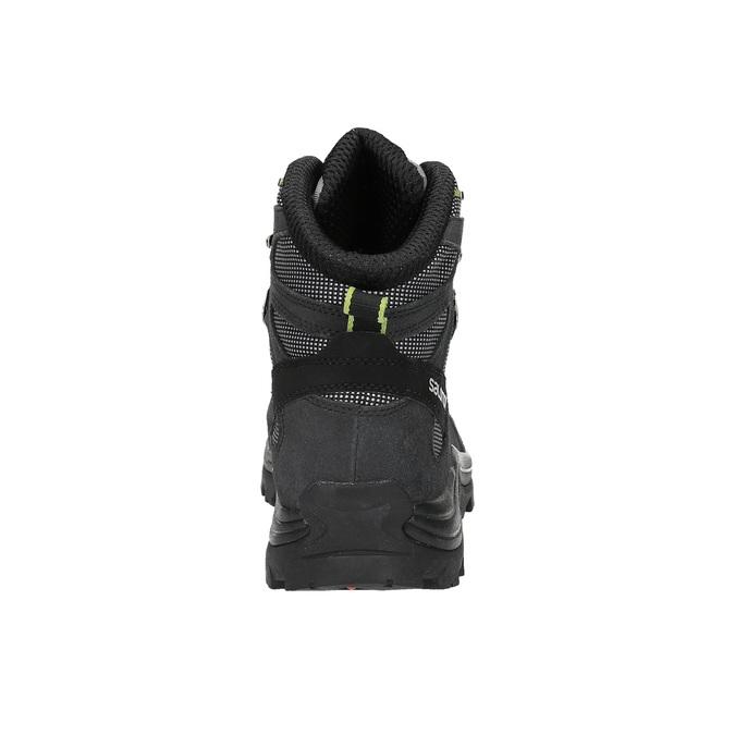 Kožená kotníčková obuv v outdoor stylu salomon, černá, 843-7052 - 17