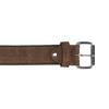 Opasek z broušené kůže bata, hnědá, 953-3106 - 26