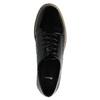 Lakované polobotky na výrazné podešvi bata, černá, 521-6600 - 19