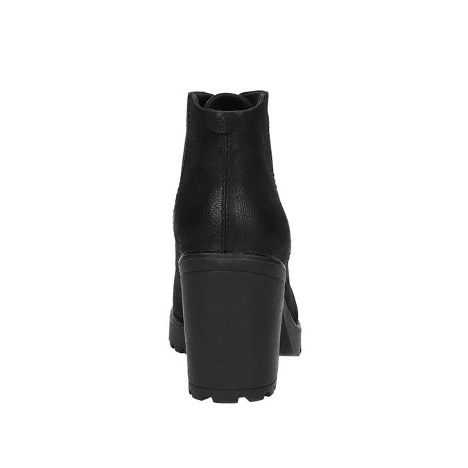 Dámská kotníčková obuv vagabond, černá, 796-6003 - 17