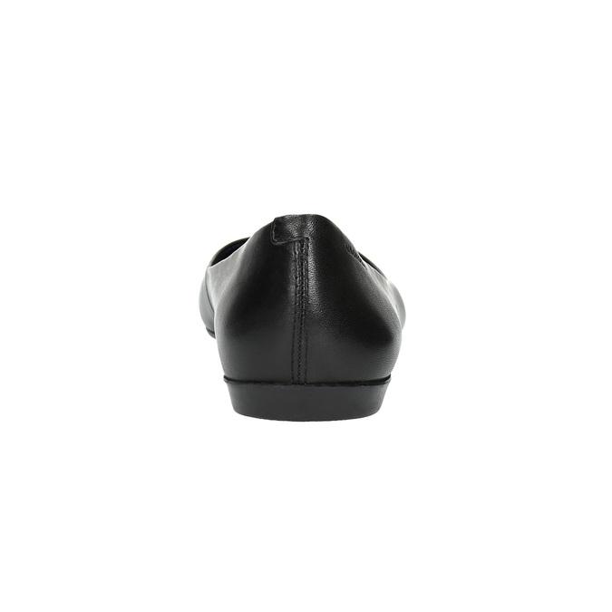 Dámské černé baleríny vagabond, černá, 524-6005 - 17