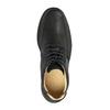 Kožená kotníčková obuv pánská comfit, černá, 824-6718 - 19