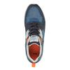 Pánské tenisky na výrazné podešvi bata, modrá, 841-9601 - 19