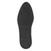 Dámské kožené tenisky černé geox, černá, 524-6018 - 26