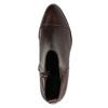 Kožená kotníčková obuv s pružením geox, červená, 514-5030 - 19
