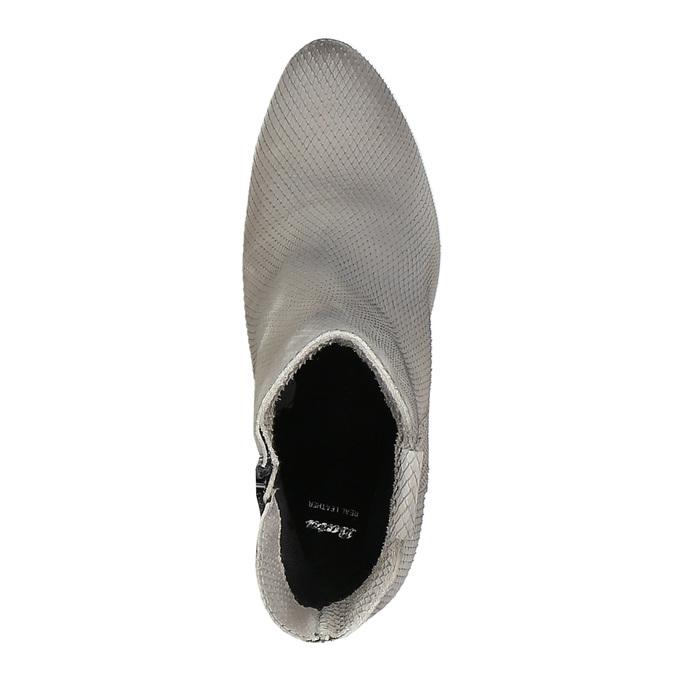 Dámská kotníčková obuv bata, šedá, 796-2607 - 19