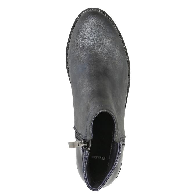 Dámská kotníčková obuv bata, šedá, 591-2615 - 19