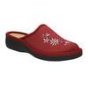 Dámská domácí obuv bata, červená, 579-5348 - 13