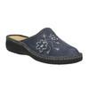 Domácí pantofle s výšivkou bata, šedá, 579-2280 - 13