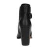 Kotníčková obuv na podpatku s přezkou bata, černá, 791-6610 - 17