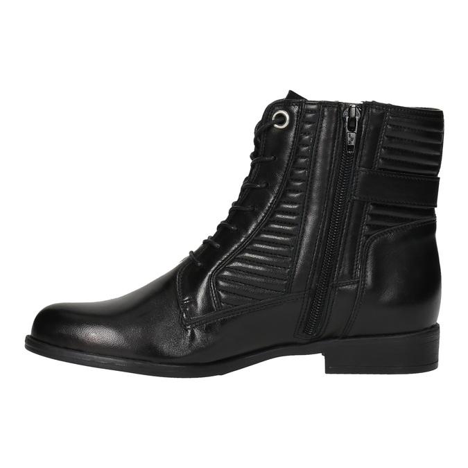 Dámská kotníčková obuv bata, černá, 594-6617 - 26