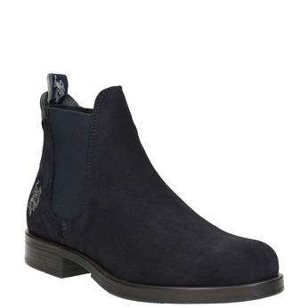 Kožená dámská Chelsea obuv u-s-polo-assn-, modrá, 513-9070 - 13