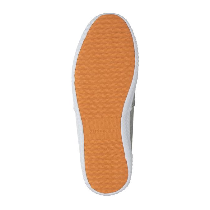 Dámské stříbrné tenisky bata, stříbrná, 519-1690 - 26