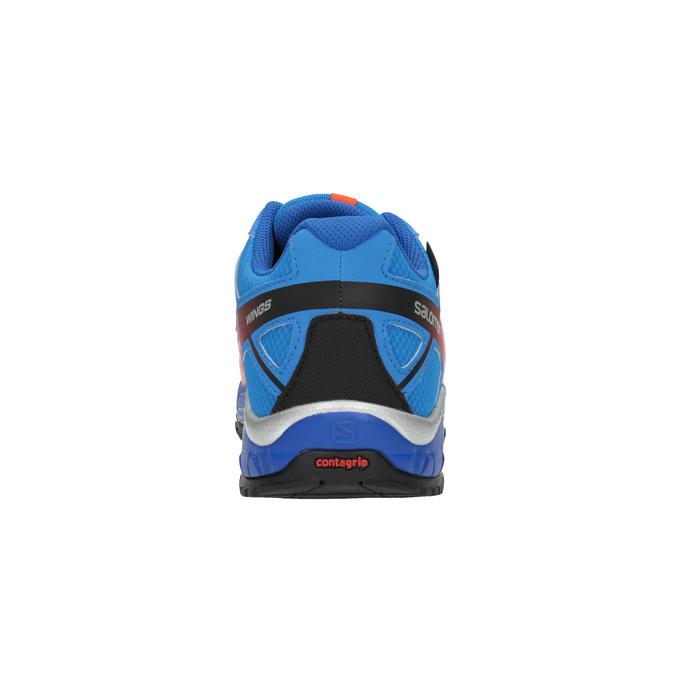 Dětská sportovní obuv v Outdoor stylu salomon, modrá, 499-9011 - 17