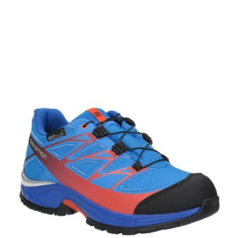 Dětská sportovní obuv v Outdoor stylu salomon, modrá, 499-9011 - 13
