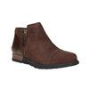 Kožená kotníčková obuv sorel, hnědá, 513-4002 - 13