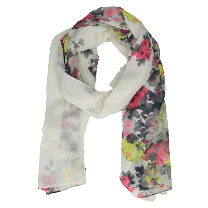 Šátek s květinovým potiskem joules, bílá, 929-1004 - 13