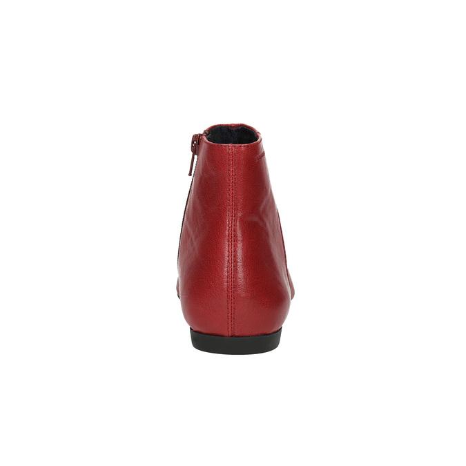 Dámská kotníčková obuv vagabond, červená, 514-5010 - 17