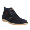 Pánské kožené Desert Boots u-s-polo-assn-, modrá, 823-9071 - 13