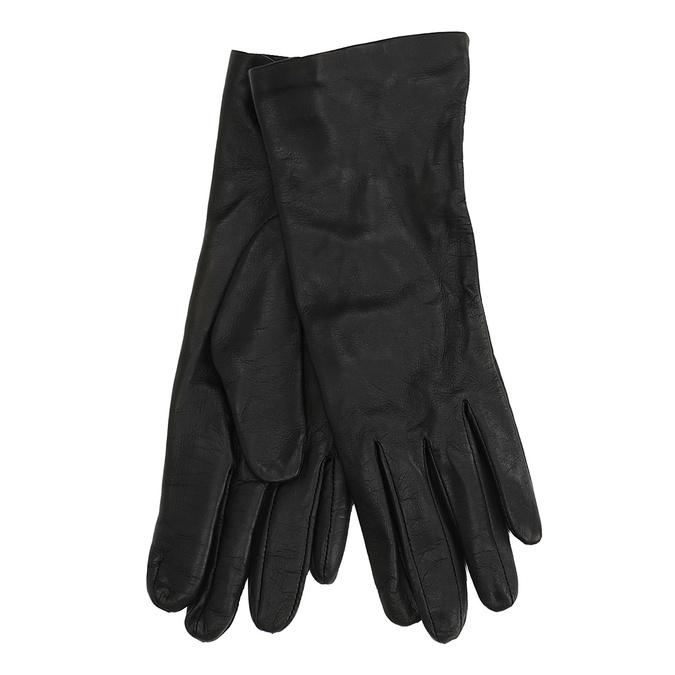 Kožené rukavice junek, černá, 924-6014 - 13