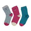 Dětské barevné ponožky 3 páry bata, 919-0498 - 26