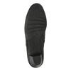 Dámská kotníčková obuv na podpatku gabor, černá, 614-6106 - 26