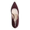 Kožené dámské lodičky na jehlovém podpatku gino-rossi, fialová, 723-5001 - 19