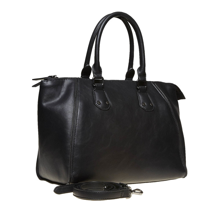 Elegantní dámská kabelka bata, černá, 961-6666 - 13