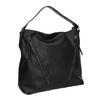 Dámská kabelka se zipy bata, černá, 961-6127 - 13