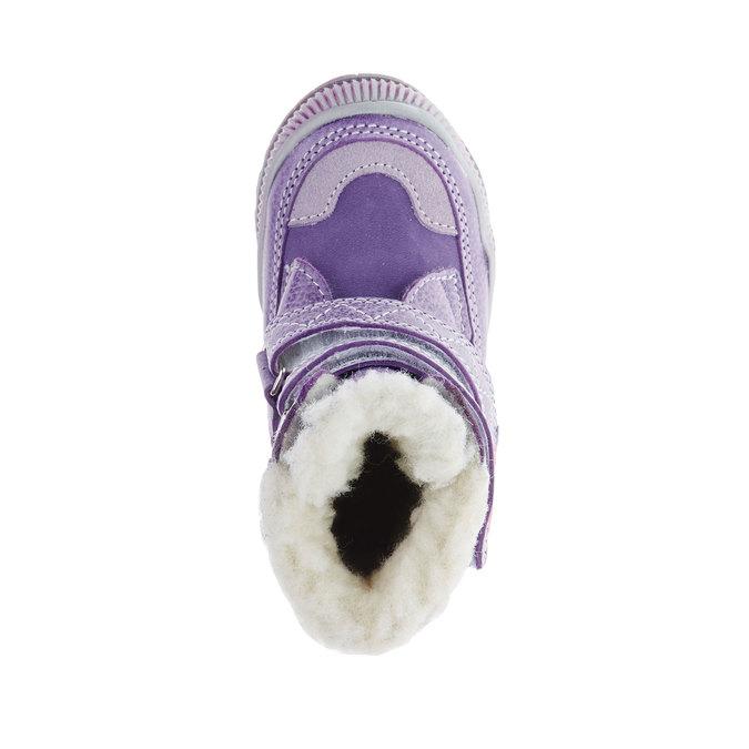dětské zimní boty mini-b, fialová, 194-9100 - 19