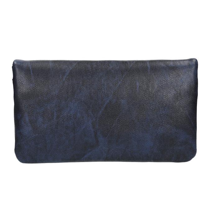 Dámské psaníčko s páskem na zápěstí bata, modrá, 961-9668 - 26