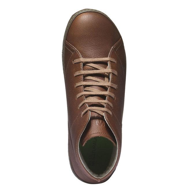 Ankle Boots el-naturalista, hnědá, 896-4019 - 19