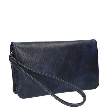 Dámské psaníčko s páskem na zápěstí bata, modrá, 961-9668 - 13
